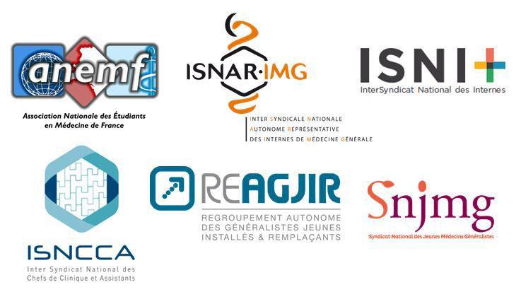 Logos ANEMF, ISNAR-IMG, ISNI, ISNCCA, ReAGJIR, SNJMG